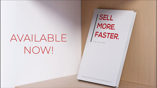 Sell More. Faster. Book by Kim Orlesky